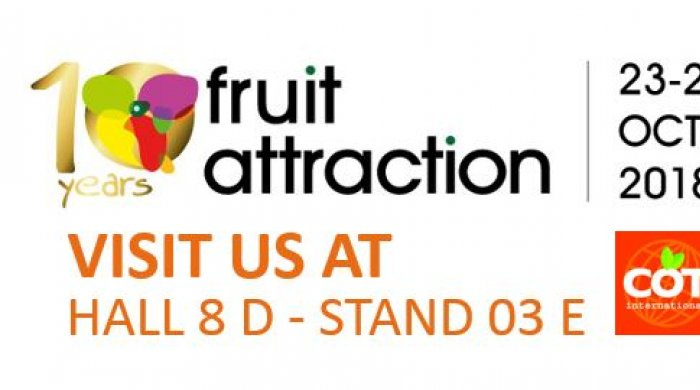Present at FRUIT ATTRACTION 2018